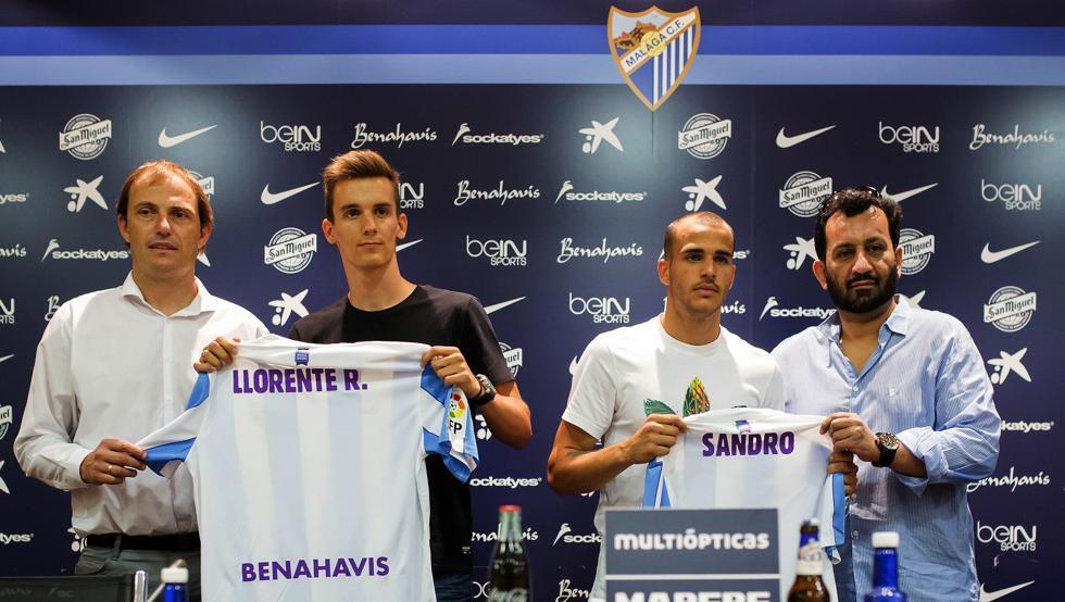 Presentación Llorente y Sandro vía Mundo deportivo