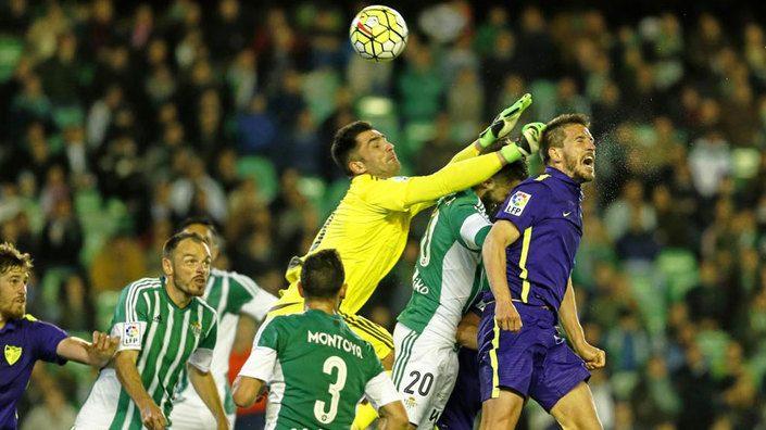 Betis - Malaga 2015/2016. Fuente: Marca