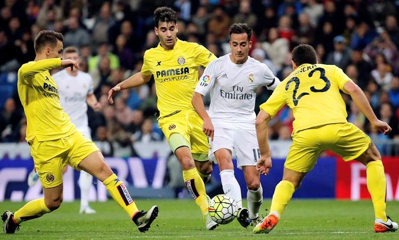 Real Madrid - Villarreal la temporada pasada