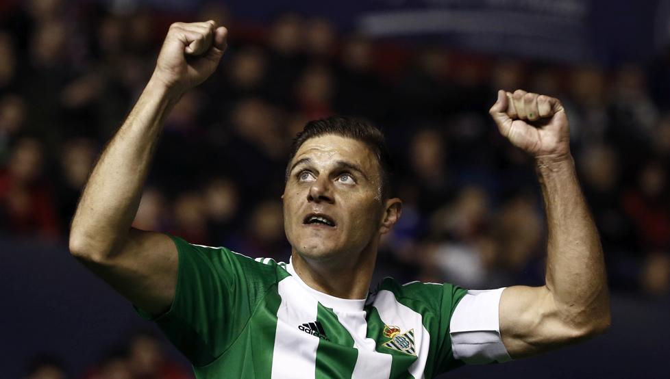 Joaquín durante el partido. Fuente: Mundodeportivo