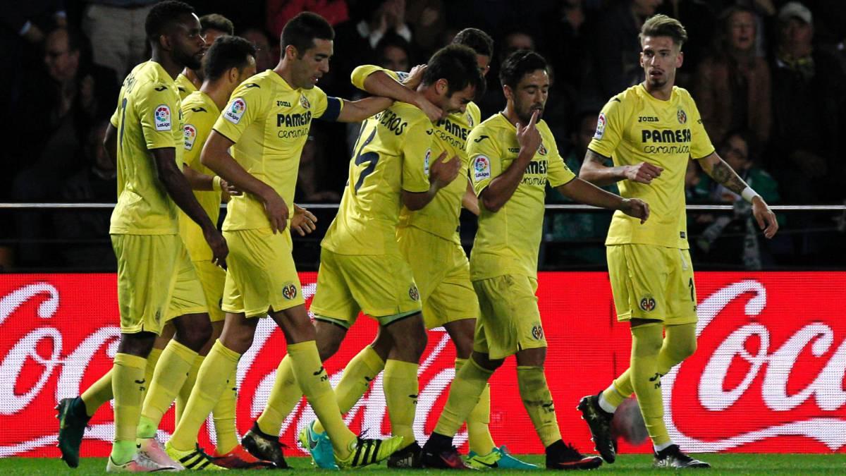 Villarreal - Betis. Imagen del encuentro. Fuente: As.