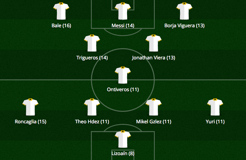 Once Ideal Jornada 11