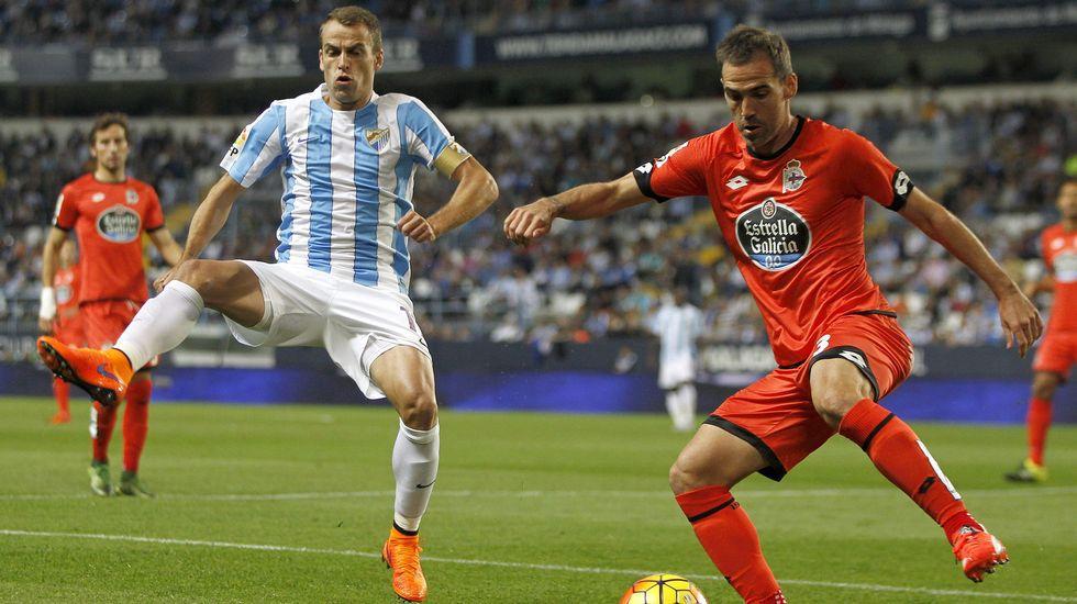 Málaga-Deportivo de la pasada campaña