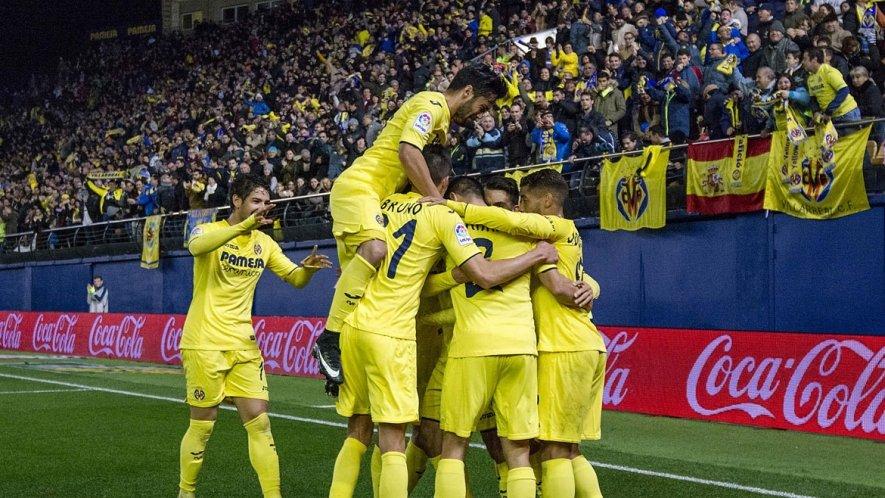 Celebración gol Villarreal