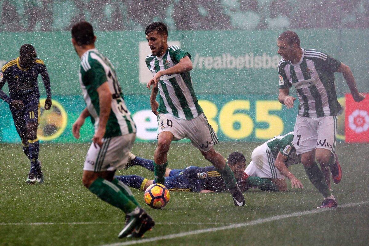 Dani Ceballos en el encuentro vs Celta