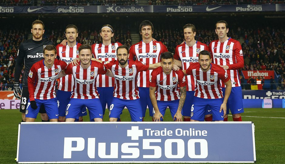 once atletico madrid