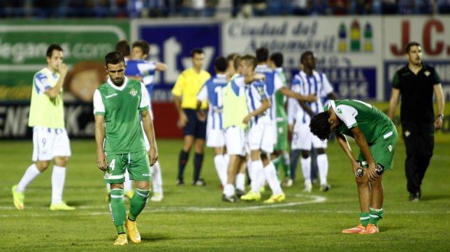 Imagen del Leganés-Betis, en Segunda División. Foto: Abc de Sevilla