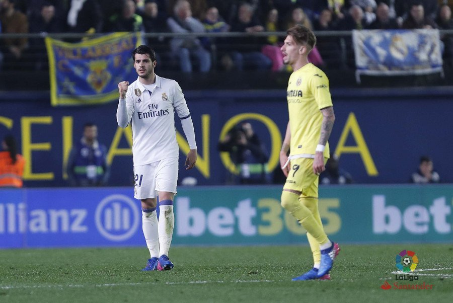 Morata. Fuente: La Liga