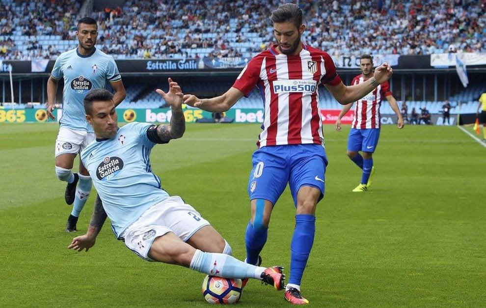 Celta-Atlético Jornada 3 LaLiga 2016-2017. Imagen vía Marca.