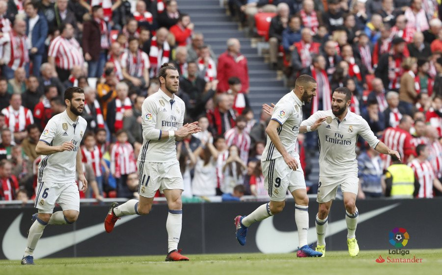 Athletic Club - Real Madrid. Fuente: La Liga