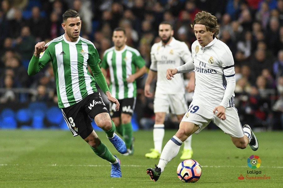 Real Madrid - Betis. Fuente: La Liga