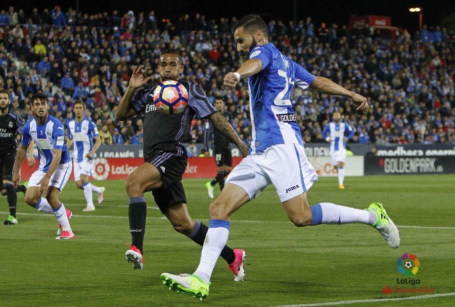Leganés - Real Madrid . Fuente: La Liga