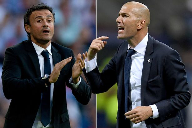 Zidane vs Luis Enrique