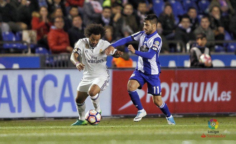 Deportivo - Real Madrid. Fuente: La Liga
