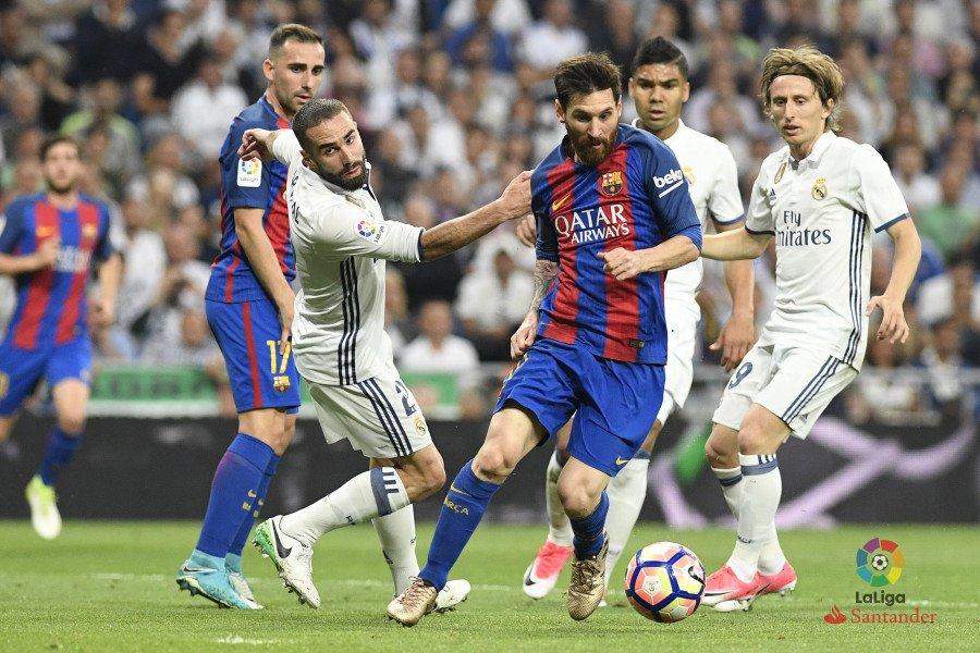 Real Madrid - Barcelona. Fuente: La Liga