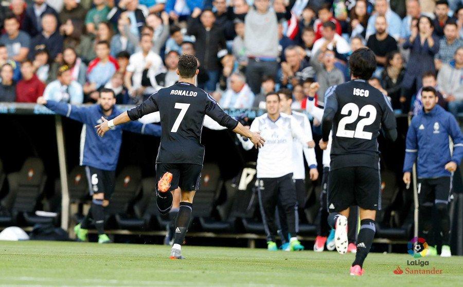 Fuente: La Liga. Celta - Real Madrid
