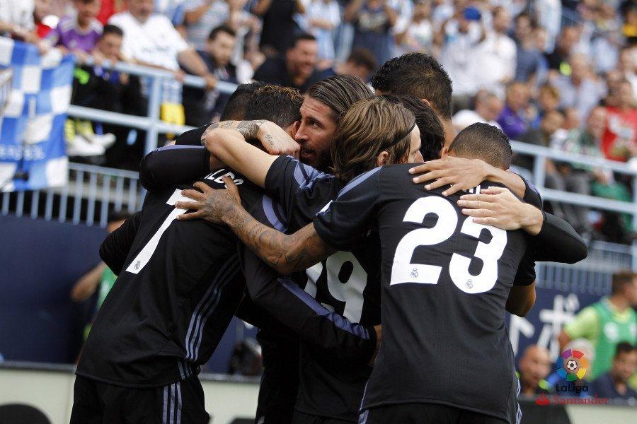 Fuente: La Liga. Málaga - Real Madrid