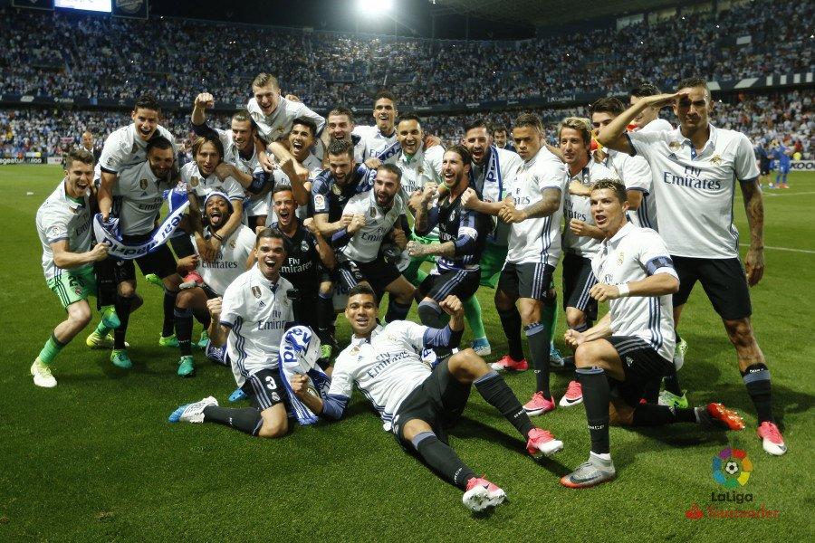 Fuente: La Liga. Real Madrid.