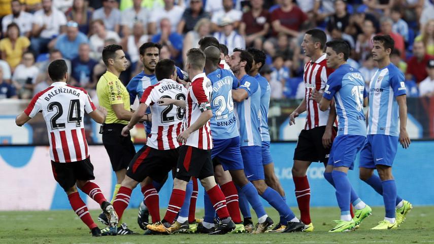 Resultado de imagen de Málaga  3-3  Athletic de Bilbao