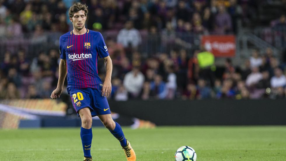 Sergi Roberto, el jugador número 12