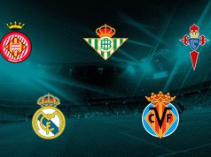 Girona, Betis, Celta, Real Madrid y Villarreal