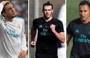 Keylor Navas, Bale y Kovacic
