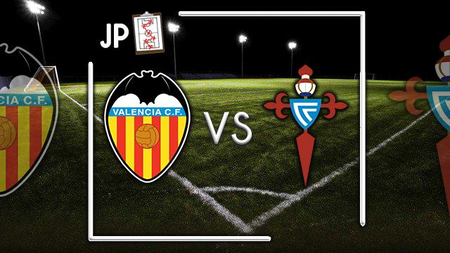 Alineaciones posibles Valencia - Celta
