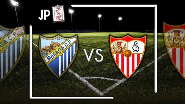 Alineaciones posibles Málaga - Sevilla