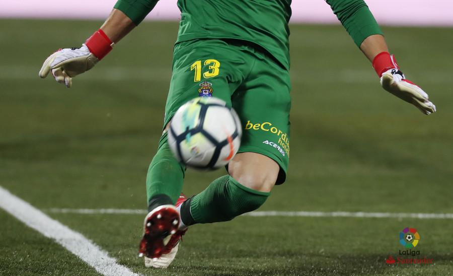 Chichizola, protagonista del Leganés – Las Palmas (0-0)