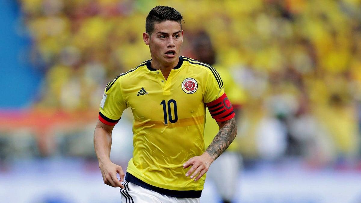 James Rodríguez Colombia