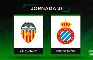 Alineaciones Posibles Valencia - Espanyol