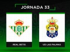 Alineaciones posibles Betis - Las Palmas