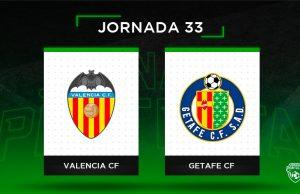Alineaciones Posibles Valencia - Getafe