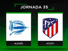 Alineaciones posibles Alavés - Atlético