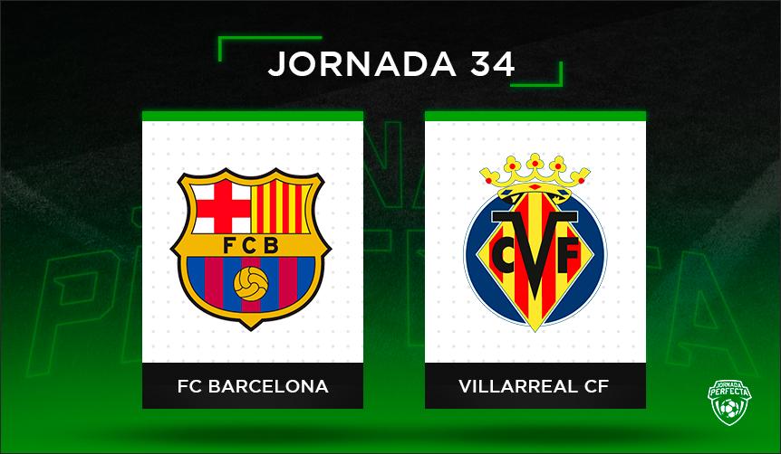 Alineaciones posibles Barça - Villarreal