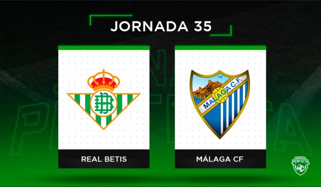 Alineaciones Posibles Betis - Málaga