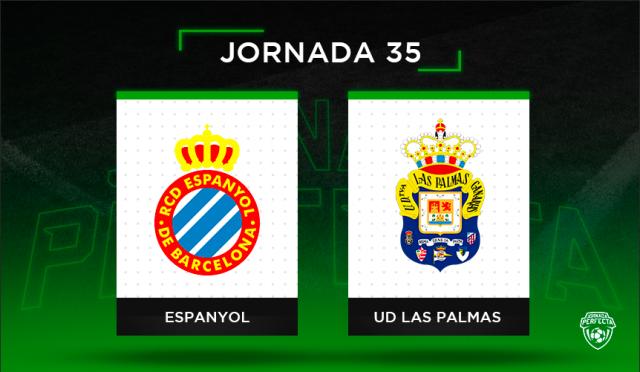 Alineaciones posibles Espanyol - Las Palmas