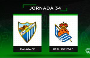Alineaciones posibles Málaga - Real Sociedad
