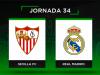 Alineaciones posibles Sevilla - Real Madrid