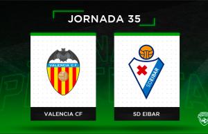 Alineaciones posibles Valencia - Eibar