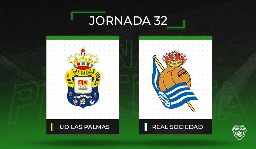 Alineaciones posibles Las Palmas - Real Sociedad