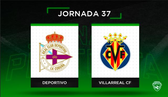 Alineaciones posibles Deportivo - Villarreal