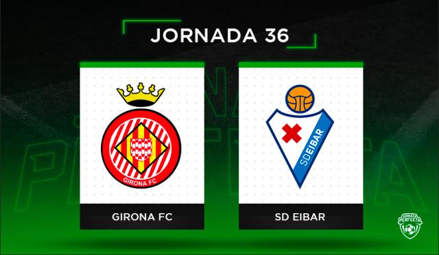 Alineaciones posibles Girona - Eibar