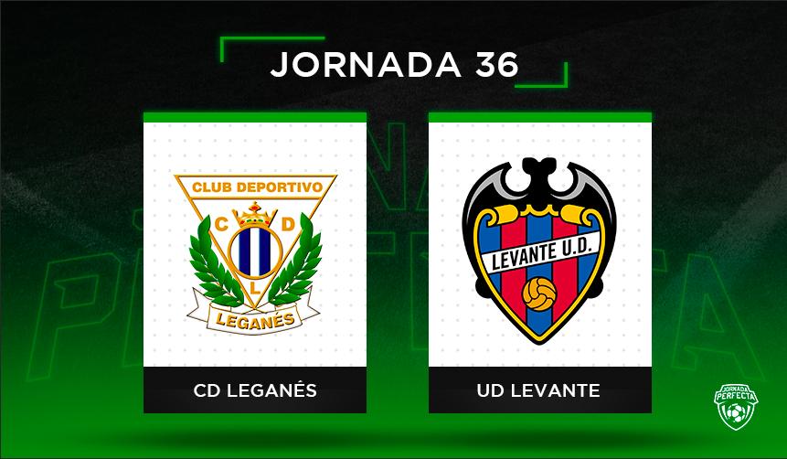 Alineaciones posibles Leganés - Levante
