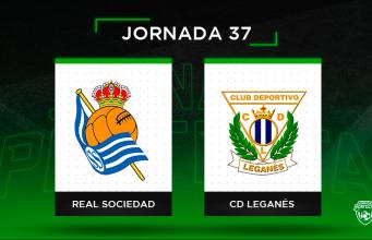 Alineaciones posibles Real Sociedad - Leganés