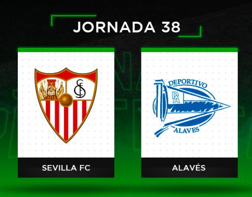 Alineaciones posibles Sevilla - Alavés