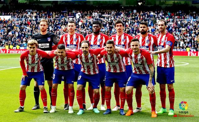 Plantilla Atletico de Madrid