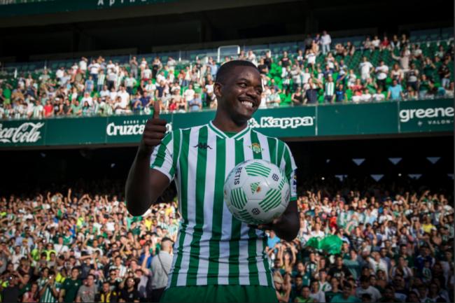 William Carvalho presentación Betis