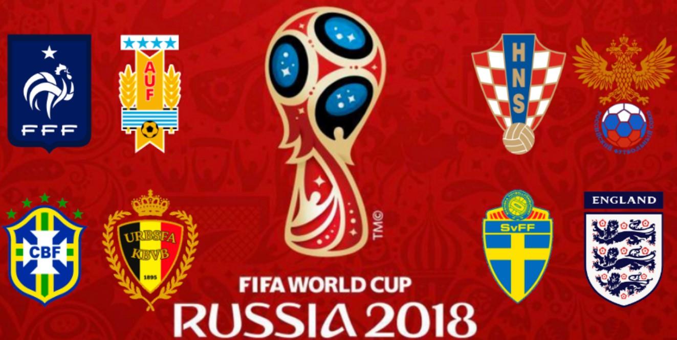 diseñador nuevo y usado gran descuento de 2019 precios de remate Apuestas Cuartos de Final Mundial 2018 Rusia - Mejores ...