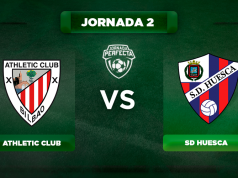 Alineaciones Athletic - Huesca